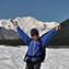 Trekking on Kennicott Glacier